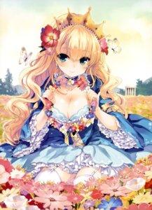 Rating: Safe Score: 132 Tags: cleavage dress sakura_koharu stockings thighhighs User: gogotea28