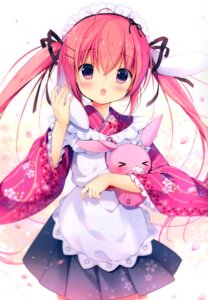 Rating: Safe Score: 20 Tags: animal_ears bunny_ears canvas+garden maid miyasaka_miyu niwasaka_rira tagme wa_maid User: lightsnow