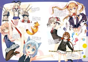 Rating: Safe Score: 82 Tags: 5_nenme_no_houkago a_(kyousougiga) animal_ears kantai_collection kantoku kanzaki_ranko koto kuriyama_mirai kyoukai_no_kanata kyousougiga maid megane myuseru_foaran nanami_ao nekomimi outbreak_company pantyhose rensouhou-chan seifuku shimakaze_(kancolle) shimogamo_yasaburou the_idolm@ster the_idolm@ster_cinderella_girls thighhighs uchouten_kazoku un_(kyousougiga) yozakura_quartet User: Hatsukoi