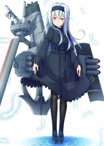 Rating: Safe Score: 26 Tags: dress gurande hibiki_(kancolle) kantai_collection lolita_fashion pantyhose User: Mr_GT