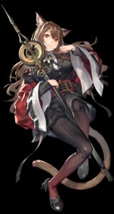Rating: Safe Score: 24 Tags: animal_ears arknights noy pantyhose skyfire_(arknights) tail uniform weapon User: Dreista
