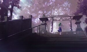 Rating: Safe Score: 27 Tags: kochiya_sanae landscape totuka touhou User: Radioactive