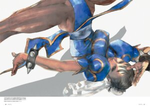 Rating: Safe Score: 10 Tags: chinadress chun_li digital_version pantsu pantyhose street_fighter_iii yasuda_akira User: Radioactive