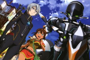 Rating: Safe Score: 15 Tags: amy_(gargantia) chamber grace_(gargantia) ledo mecha suisei_no_gargantia User: drop