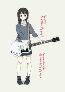Rating: Safe Score: 15 Tags: guitar seifuku sweater takata_koutarou User: saemonnokami