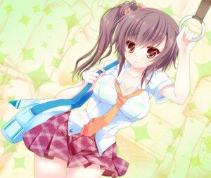 Rating: Questionable Score: 63 Tags: bra cleavage hinata_momo jpeg_artifacts see_through seifuku wet User: fairyren