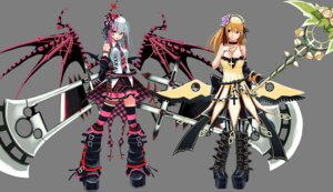 Rating: Safe Score: 23 Tags: cosmic_break morizo_cs thighhighs transparent_png wings User: echidna_vita