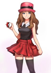 Rating: Safe Score: 14 Tags: jun_(seojh1029) pokemon pokemon_xy serena_(pokemon) thighhighs User: Spidey