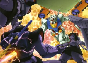 Rating: Safe Score: 2 Tags: gundam mecha mobile_suit_gundam rx-78-2_gundam User: Radioactive