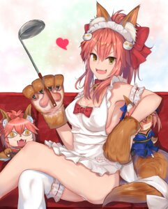 Rating: Questionable Score: 40 Tags: animal_ears fate/grand_order naked_apron tagme tail tamamo_cat thighhighs User: Mr_GT