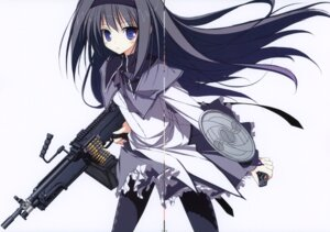 Rating: Safe Score: 15 Tags: akemi_homura crease gun pantyhose puella_magi_madoka_magica suzuri tennenseki User: admin2