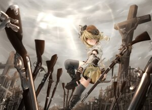 Rating: Safe Score: 29 Tags: gun puella_magi_madoka_magica terabyte_(rook777) tomoe_mami User: Mr_GT