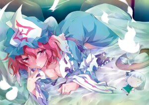 Rating: Safe Score: 19 Tags: cleavage fuu_(wise_man) saigyouji_yuyuko touhou User: Mr_GT