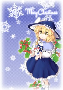 Rating: Safe Score: 6 Tags: christmas kirisame_marisa mesousan touhou User: 椎名深夏