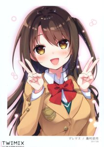 Rating: Safe Score: 18 Tags: seifuku shimamura_uzuki sumisaki_yuzuna sweater the_idolm@ster the_idolm@ster_cinderella_girls User: kiyoe