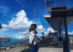 Rating: Safe Score: 29 Tags: landscape seifuku shiozero User: mash