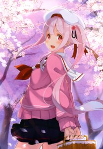 Rating: Safe Score: 78 Tags: harusame_(kancolle) kantai_collection kujou_ichiso seifuku sweater User: drop