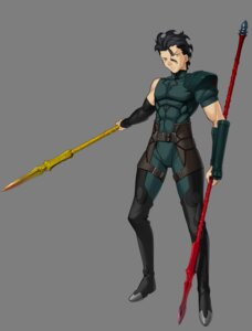 Rating: Safe Score: 5 Tags: fate/stay_night fate/unlimited_codes fate/zero lancer_(fate/zero) male transparent_png type-moon weapon User: Yokaiou