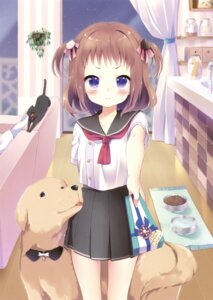 Rating: Safe Score: 68 Tags: kuune_rin neko seifuku User: Twinsenzw