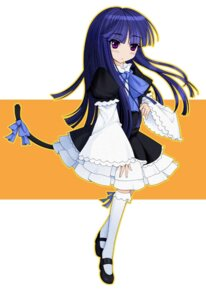 Rating: Safe Score: 12 Tags: dress frederica_bernkastel ideolo lolita_fashion mxk tail thighhighs umineko_no_naku_koro_ni User: 洛井夏石