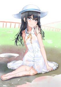Rating: Safe Score: 41 Tags: adagaki_aki dress masamune-kun_no_revenge summer_dress sunhyun User: Spidey
