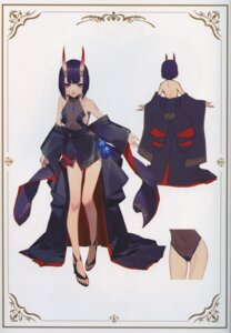 Rating: Questionable Score: 36 Tags: fate/grand_order heels horns japanese_clothes no_bra open_shirt pantsu see_through shuten_douji_(fate/grand_order) tagme User: kiyoe
