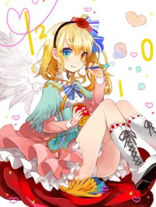 Rating: Safe Score: 38 Tags: heterochromia musou_yuchi pantsu wings User: Mr_GT