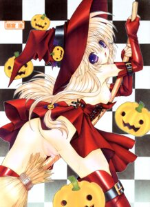 Rating: Explicit Score: 47 Tags: breasts halloween nipples nopan pussy pussy_juice ramiya_ryou witch User: Radioactive
