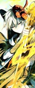 Rating: Safe Score: 4 Tags: bakugou_katsuki boku_no_hero_academia male shun_nyun sword wings User: charunetra