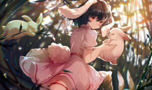 Rating: Safe Score: 23 Tags: animal_ears azusa0v0 bunny_ears garter inaba_tewi skirt_lift tail touhou User: Mr_GT