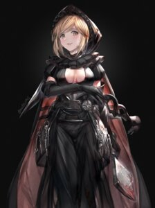 Rating: Safe Score: 25 Tags: blood breast_hold djeeta_(granblue_fantasy) dress granblue_fantasy milli_little no_bra User: Mr_GT