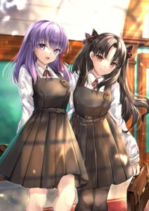 Rating: Safe Score: 27 Tags: fate/grand_order fate/stay_night fate/stay_night_heaven's_feel hane_yuki ishtar_(fate/grand_order) matou_sakura pantyhose seifuku toosaka_rin User: hiroimo2