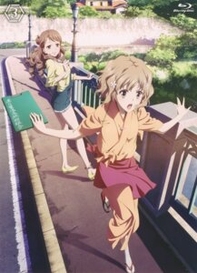 Rating: Safe Score: 28 Tags: disc_cover dress hanasaku_iroha matsumae_ohana wakura_yuina yukata User: xiaowufeixia