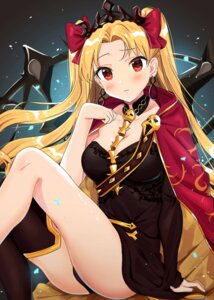 Rating: Safe Score: 41 Tags: cleavage ereshkigal_(fate/grand_order) fate/grand_order pantsu thighhighs tomato_omurice_melon User: Spidey