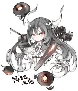 Rating: Safe Score: 19 Tags: anchorage_water_oni chibi dress horns kantai_collection tagme User: Radioactive