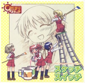 Rating: Safe Score: 2 Tags: hidamari_sketch hiro miyako sae seifuku yuno User: Radioactive