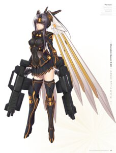 Rating: Questionable Score: 32 Tags: digital_version erect_nipples gun heels mecha_musume thighhighs tony_taka User: Twinsenzw