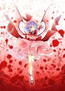 Rating: Safe Score: 27 Tags: hagiwara_rin remilia_scarlet touhou wings User: fairyren