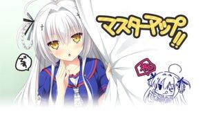 Rating: Safe Score: 22 Tags: chibi deatte_5-fun_wa_ore_no_mono!_jikan_teishi_to_atropos hiiragi_hakua hulotte ikegami_akane seifuku User: edogawaconan