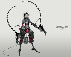 Rating: Safe Score: 14 Tags: armor autographed lo-03 mecha_musume palow throne. User: Radioactive