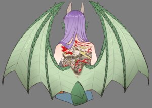 Rating: Safe Score: 11 Tags: dragon_(monster_girl_encyclopedia) horns manononos monster_girl monster_girl_encyclopedia tattoo topless transparent_png wings User: charunetra