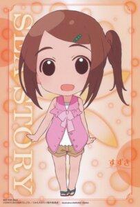 Rating: Safe Score: 3 Tags: chibi iizuka_haruko suzuki_(umi_monogatari) umi_monogatari User: Radioactive