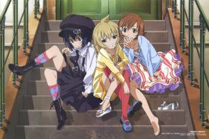 Rating: Safe Score: 43 Tags: dress feet gothic_lolita hirayama_hidetsugu lolita_fashion makoto minami-ke minami-ke_okawari minami_chiaki minami_touma thighhighs trap User: Radioactive