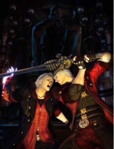 Rating: Safe Score: 10 Tags: dante devil_may_cry male nero User: Radioactive