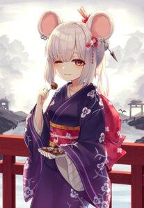 Rating: Safe Score: 23 Tags: animal_ears kimono myung User: Mr_GT