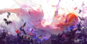 Rating: Safe Score: 43 Tags: dress fate/stay_night mu_mu_shang_wen saber saber_lily sword User: Zenex