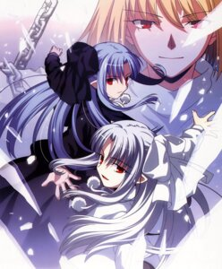 Rating: Safe Score: 9 Tags: arcueid_brunestud len tsukihime white_len User: shadow_Hiei