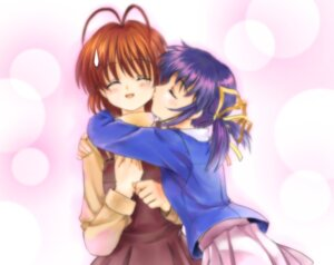 Rating: Safe Score: 12 Tags: clannad furukawa_nagisa moonknives sunohara_mei User: kyoushiro