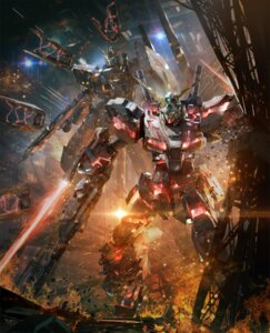 Rating: Safe Score: 53 Tags: crossover gundam mecha nu_gundam tagme unicorn_gundam User: NotRadioactiveHonest