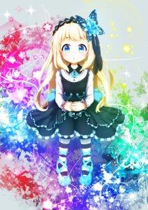 Rating: Safe Score: 17 Tags: dress gothic_lolita lolita_fashion pantyhose tagme User: Nico-NicoO.M.